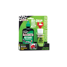 Finish Line No Drip Chain Luber Combo Wet Lube 120 ml grøn